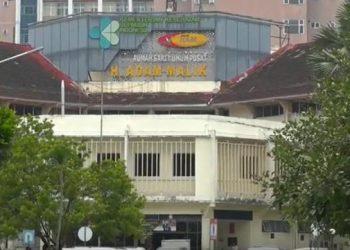 Rumah Sakit Umum Pusat (RSUP) Haji Adam Malik di Kota Medan, Sumatera Utara.